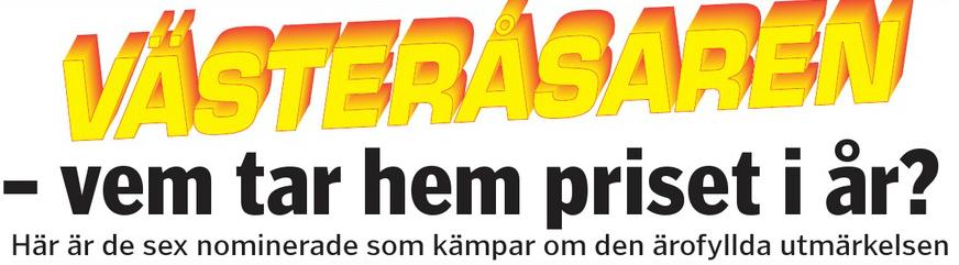 Rösta på Västeråsaren 2015