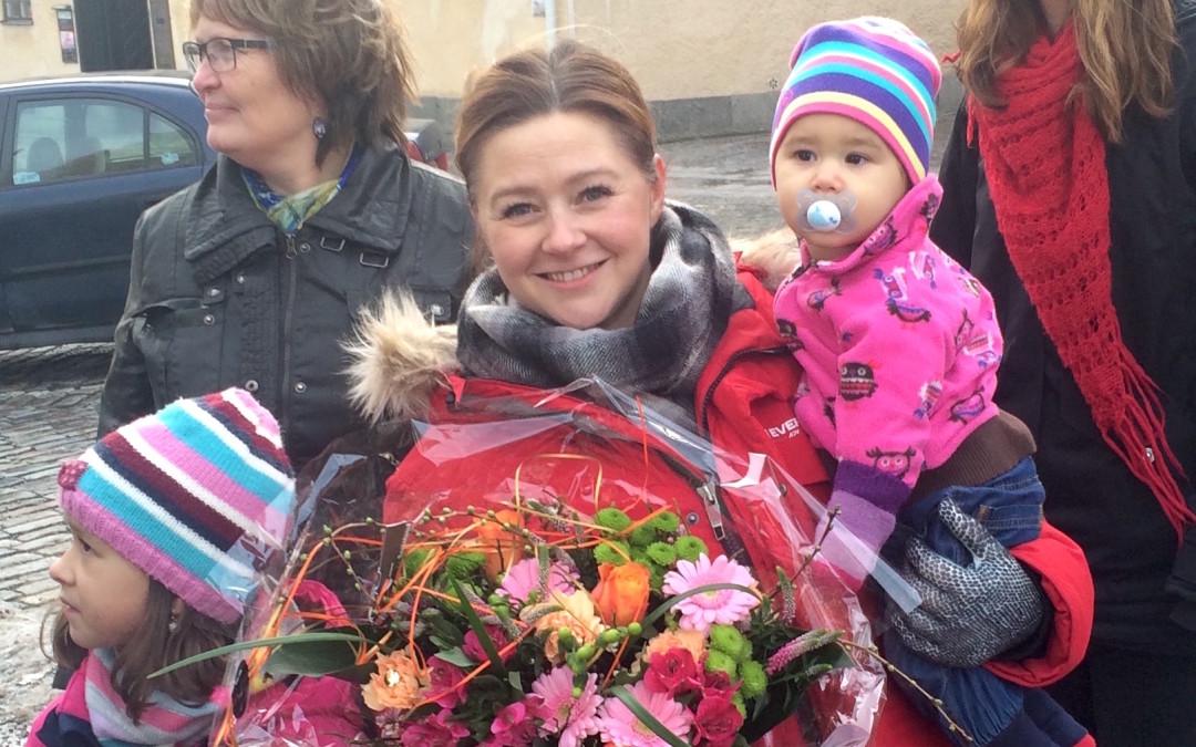 Cicilia Sedvall, ordförande i TGVS, är Västeråsaren 2015